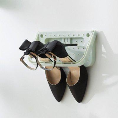 ❃彩虹小舖❃壁掛式黏貼鞋架 創意 家用 可折疊 掛式鞋架 浴室 掛牆 鞋子 拖鞋收納架 【J87】