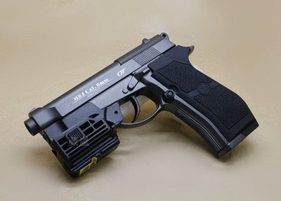 WG M84 全金屬 CO2直壓槍 紅雷射版(BB槍BB彈瓦斯槍玩具槍模型槍電動槍IPSC警用軍用手槍WG 301