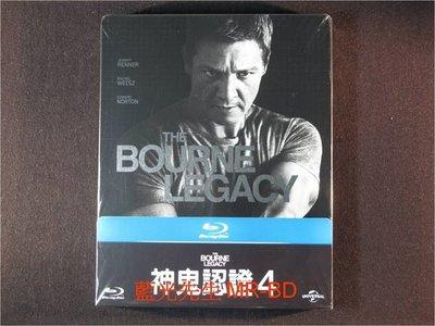 [藍光BD] - 神鬼認證4 The Bourne Legacy 限量鐵盒版 ( 台灣正版 )