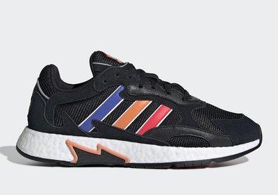 沃皮斯§Adidas Tresc Run 黑/藍橘紅 老爹鞋 男鞋 EF0768