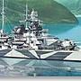 田宮拼裝艦船模型78015 1/ 350 二戰德軍 提爾...