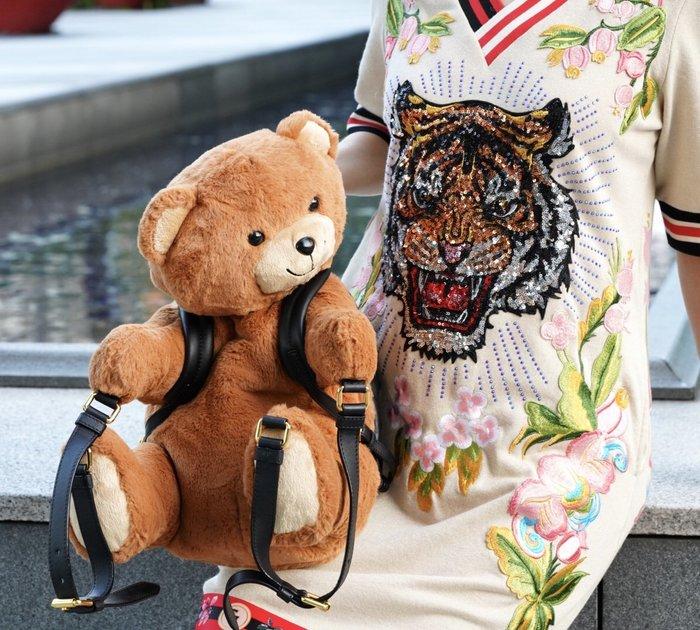 Moschino Teddy Bear Backpack 小熊後背包 現貨