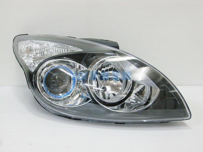 ~~ADT.車材.車材~~HYUNDAI 現代 I30 原廠型黑框魚眼大燈含電調馬達 單邊價