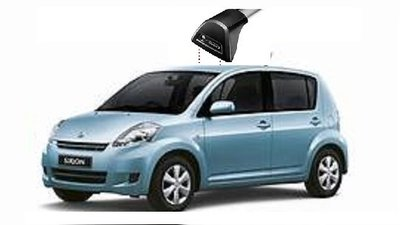 【shich急件】WHISPBAR Daihatsu Sirion TOYOTA PASSO RACY 車頂架 /行李架