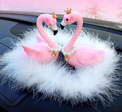 車載車內飾品擺件創意可愛網紅小搖頭豬女車子汽車上裝飾用品高檔