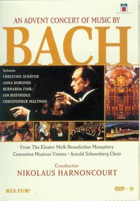 音樂居士#An Advent Concert Of Music By Bach 巴赫降臨節音樂會 D9 DVD
