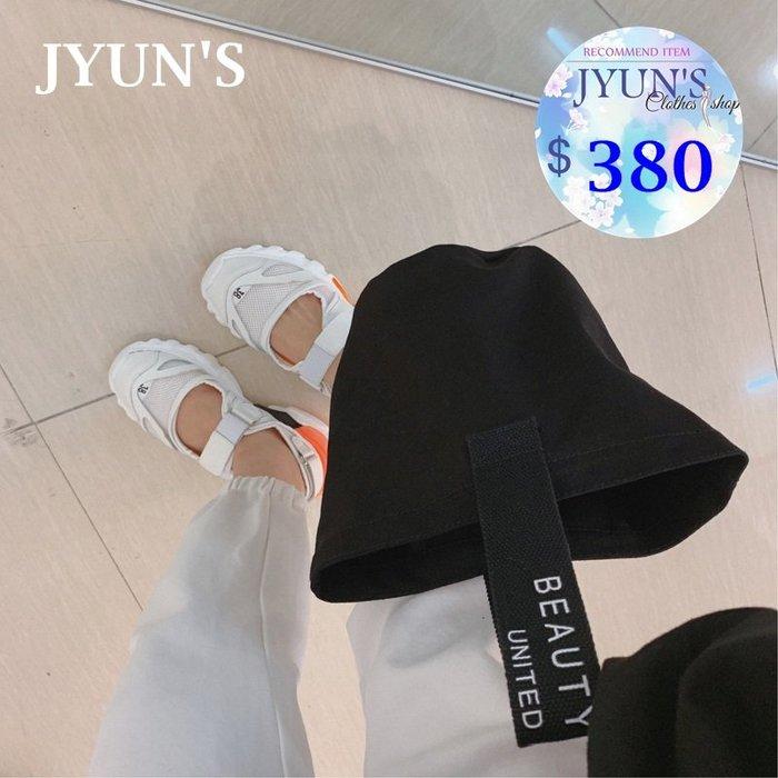 JYUN'S 新款韓版時尚原宿ins原宿潮流簡約休閒百搭手提包字母提帶小清新水桶包 1款 預購