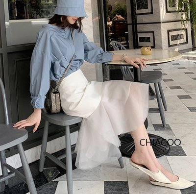 CHIACOO歐美 韓國 復古 魚尾裙 西裝裙 窄裙 及膝裙 蓬蓬裙 紗裙 長裙 zara favvi snidel
