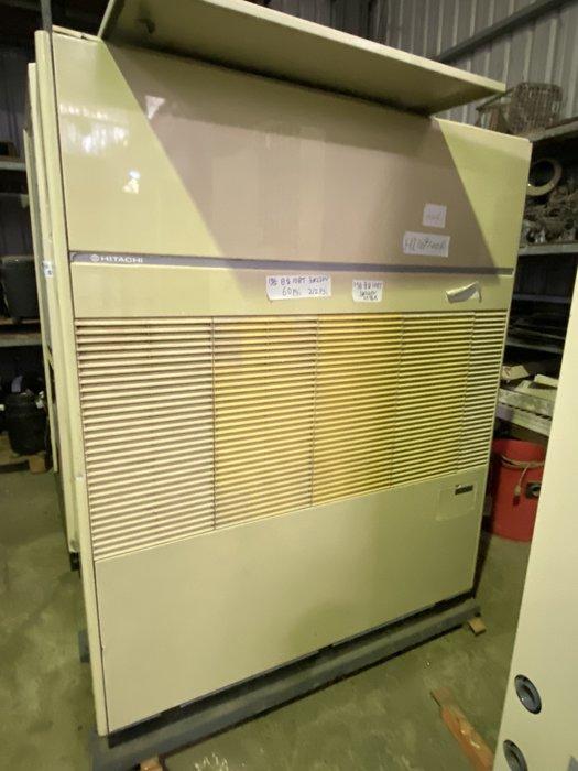 (大台北)中古日立10RT水冷箱型機3φ220V(編號:HI1091004)~冷氣空調拆除回收買賣出租~