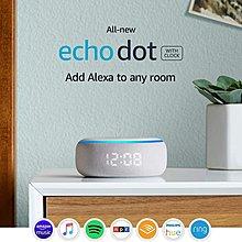 Amazon Echo Dot (3rd Gen)Smart speaker with clock and Alexa智能聲控揚聲器/喇叭連時間顯示屏,全新原裝