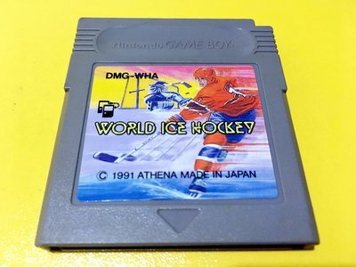 幸運小兔 GB遊戲 GB 世界 冰上曲棍球 World Ice Hockey GameBoy GBA 主機適用 D6