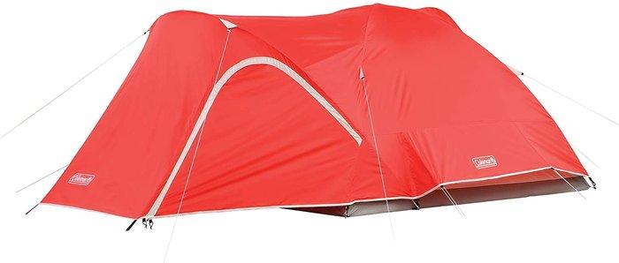 【樂活先知】『代購』 美國Coleman 露營 帳篷 四人帳  登山  野餐 戶外   紅