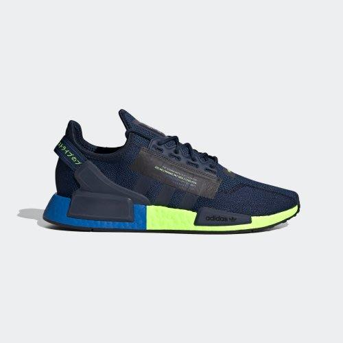 南◇2020 6月 ADIDAS NMD_R1 V2 運動鞋 FX3948 深藍 綠 運動 休閒 BOOST 男款