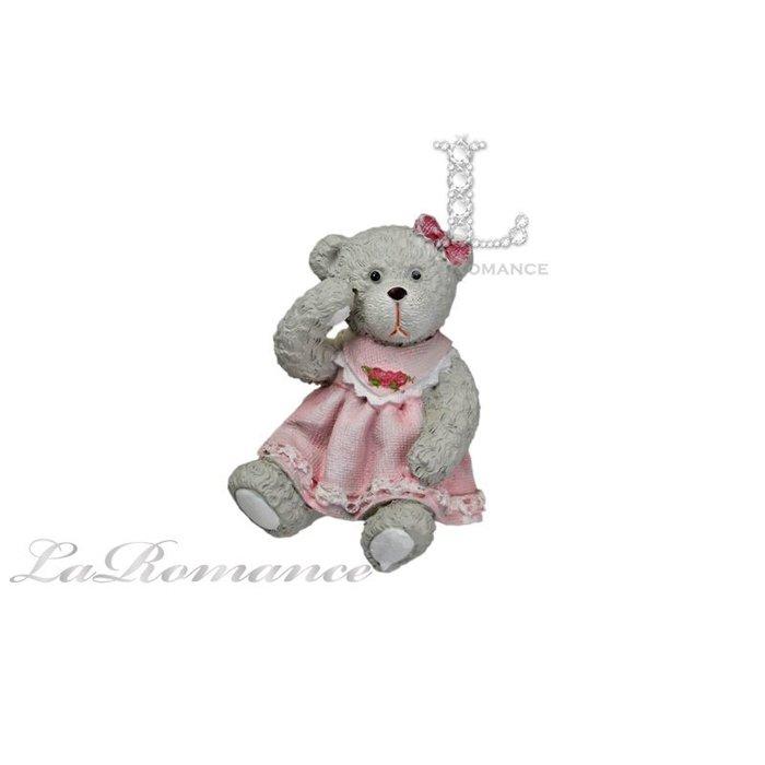 【義大利 Cupido & Company 特惠系列】 白色女生情侶熊 (小) / 泰迪熊 / 童趣動物