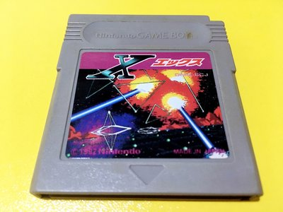 幸運小兔 GB遊戲 GB 太空坦克 宇宙戰鬥機 X エックス 任天堂 GameBoy GBC、GBA 適用 D6