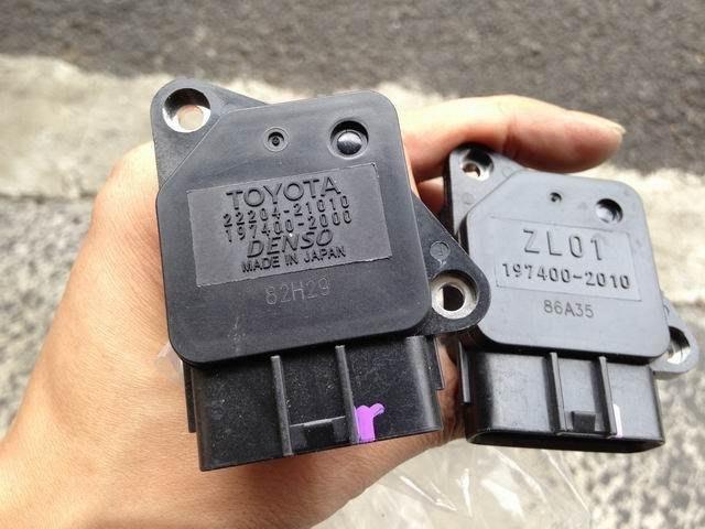 【空氣流量計】全新日本庫存件 TOYOTA 22204-21010 197400 DENSO ZL01 2010 203