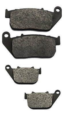 Volar Brake Pads- VBP107*1&108*1 H-D XL1200N 08-12 一車份