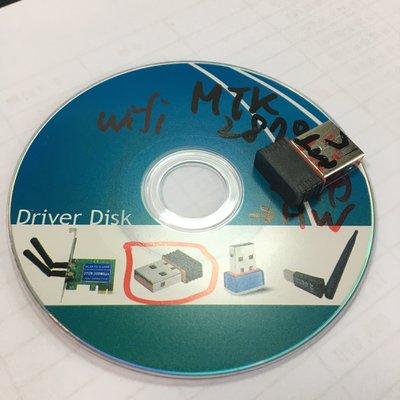 MTK 聯發科 2870 無線網卡 附 CD 函驅動程式 RT2870 dwa-131 rtl 8188cu