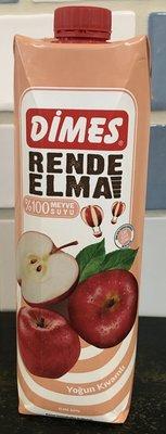 【土耳其原裝】Dimes地美100%果汁 蘋果/芒果/紅石榴/葡萄/櫻桃/柳橙 1000ml(1公升)