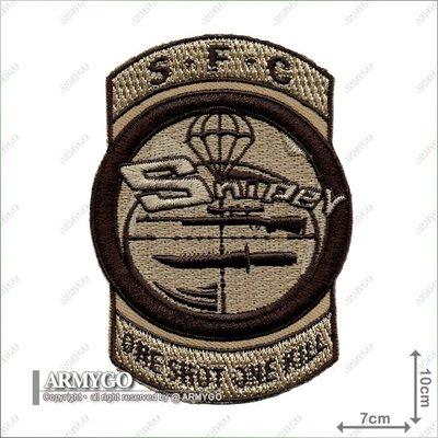 【ARMYGO】空降特戰指揮部 狙擊章 (沙色版)