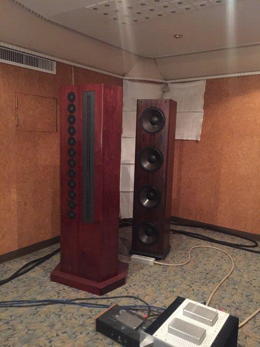 現貨美品  客人託售  Genesis 200 Series 落地喇叭 靜電式高音/低音分離式 品相優美