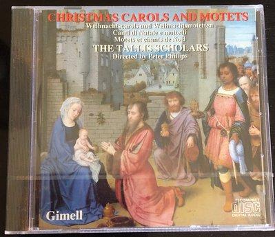 *愛樂熊貓聖誕樂1986Gimell英版(全新)TALLIS泰利斯Christmas carols and motets