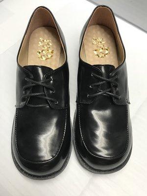 【便宜GO鞋城】MIT女版學生皮鞋/休閒鞋/鞋帶式/後鞋根高度3CM《336》