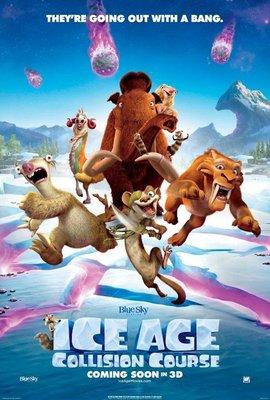 【藍光電影】冰川時代5:星際碰撞 冰河世紀5/冰川時代5:碰撞航向 Ice Age:Collision Course (2016) 99-036