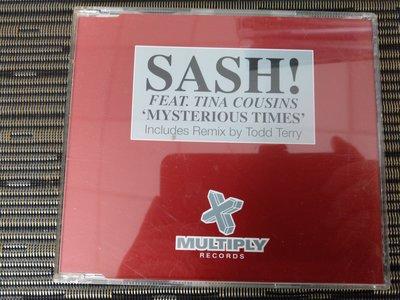 稀有宣傳版 CD- SASH / MOVE MANIA (非 蔡琴)NW