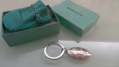 移民準備中--出清^^TIFFANY & Co. 美國西北航空公司頭等艙VIP贈品 925純銀鑰匙圈  絕版