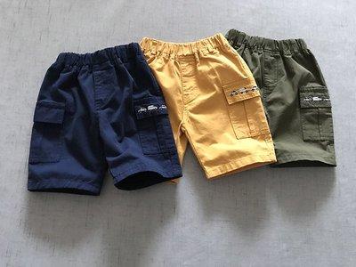 【Mr. Soar】 B3063 夏季新款 歐美style童裝男童小汽車短褲五分褲 現貨