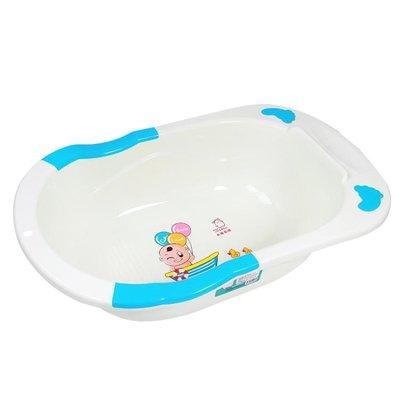 嬰兒洗澡盆 浴盆新生兒可坐躺多功能寶寶澡盆兒童沐浴初生兒通用 卡布奇诺HM