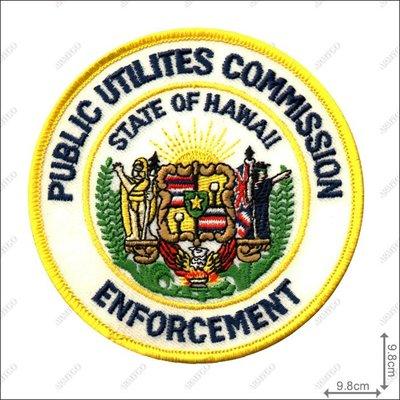 【ARMYGO】美國 public utilities commission 公用事業委員 (夏威夷) 臂章