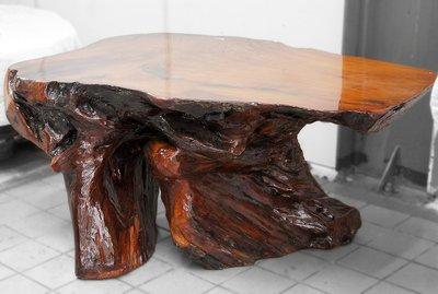 台灣紅櫸奇木桌