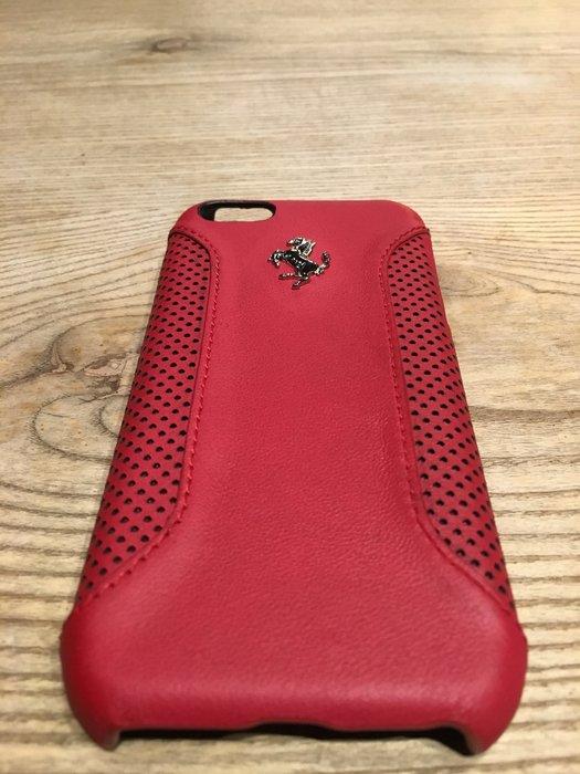TAIWANSPEED極速台灣賽車時尚館-Ferrari法拉利iPhone5/5s皮革手機殼