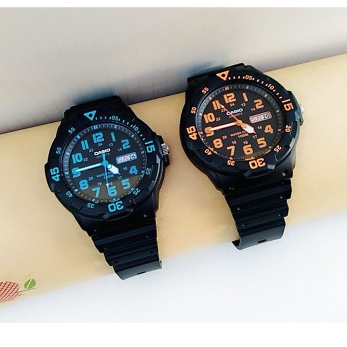 【CASIO石英錶】卡西歐手錶 酷炫 潛水風100米防水 學生當兵 附保固卡【特價690】MRW-200H