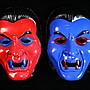 佳佳玩具 ----- 燈光 吸血鬼 殭屍 惡魔 面具 角色扮演 遊戲活動 party 化妝舞會【YF10706】