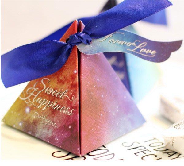 婚禮喜糖盒小禮盒 歐式星空婚禮喜糖包裝紙盒子個性結婚喜糖盒創意婚慶(同色30個)  _☆找好物FINDGOODS ☆