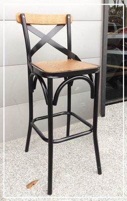 [ 椅子王 ]-----瑪德琳鐵吧椅