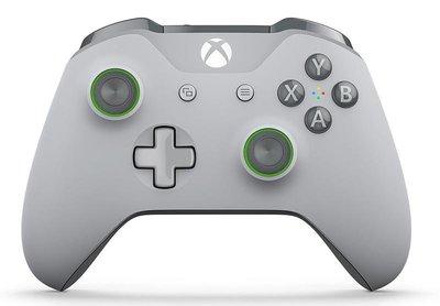 微軟 XBOX ONE 原廠藍牙無線控制器 無線 特別版 手把 3.5MM耳機孔 PC XBOXONE 灰綠 恐龍電玩