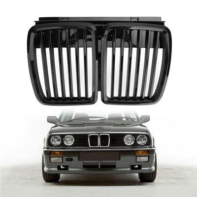 BMW專用水箱護罩亮黑 適用 1983-1991 E30 3系列-極限超快感!