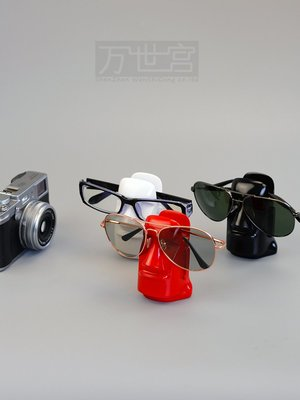 遇見❥便利店  迷你眼鏡展示架 眼鏡展示架 眼鏡抽象托 眼鏡小模特樹脂(規格不同價格不同請諮詢喔)
