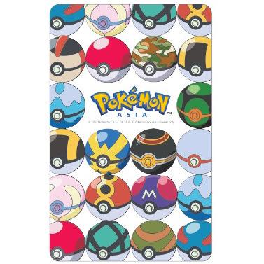 Pokemon精靈寶可夢寶貝球大集合閃卡悠遊卡