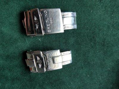 BREITLING 百年靈原廠鋼帶錶扣