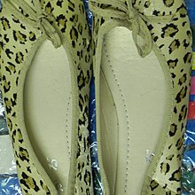 [衣飾] 金包豹紋平底鞋 包郵