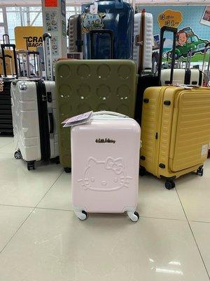 阿豪 日本版 Sanrio Hello Kitty 大頭版 19寸全新行李箱
