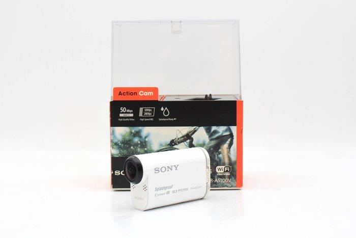 【高雄青蘋果3C】SONY HDR-AS100V 白 二手運動攝影機 中古運動攝影機 #46807