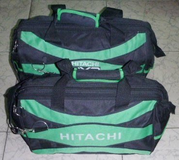 日本名牌 HITACHI 工具包#0 小號,23L,硬式,隔層共1大6小,工具箱,方便取放;收納包,可提可背
