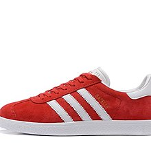 D-BOX  Adidas Originals Gazelle Green 燙金 運動 休閒 板鞋 紅色 麂皮