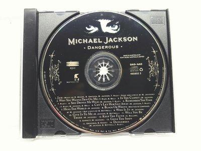 【樂購音樂館】麥克傑克森MICHAEL JACKSON~DANGEROUS~進口版原版CD無ifpi無歌詞